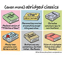 (even more) abridged classics Photographic Print