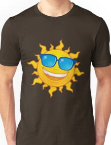 Summer Sun Wearing Sunglasses Unisex T-Shirt