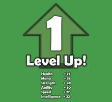 Level Up - Level 1! One Piece - Short Sleeve