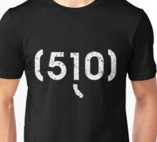 Area Code 510 California Unisex T-Shirt