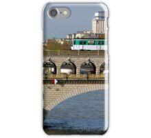Train on a bridge iPhone Case/Skin