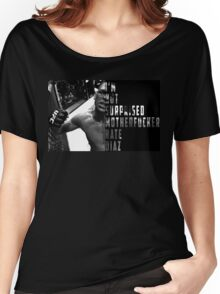 'I'M NOT SURPRISED MOTHERFUCKER' Nate Diaz Women's Relaxed Fit T-Shirt