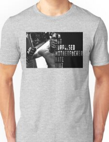 'I'M NOT SURPRISED MOTHERFUCKER' Nate Diaz Unisex T-Shirt