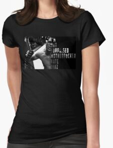 'I'M NOT SURPRISED MOTHERFUCKER' Nate Diaz Womens Fitted T-Shirt