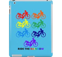 Ride the Rainbow iPad Case/Skin