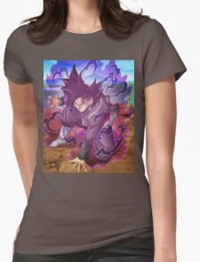 GOKU BLACK   Womens Fitted T-Shirt