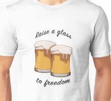 Hamilton Raise A Glass Unisex T-Shirt