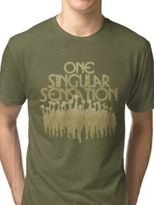 One Singular Sensation | A Chorus Line Tri-blend T-Shirt
