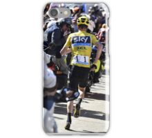 Chris Froome's run iPhone Case/Skin