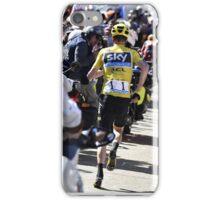 Chris Froome's run iPhone Case/Skin