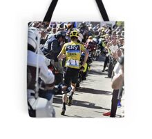 Chris Froome's run Tote Bag