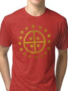 Wheel Cross Tri-blend T-Shirt