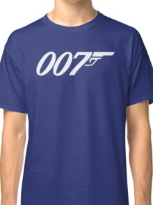 007 James Bond Sticker Vinyl Decal Gun Wall Car 12 Classic T-Shirt