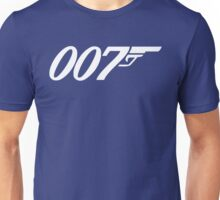 007 James Bond Sticker Vinyl Decal Gun Wall Car 12 Unisex T-Shirt