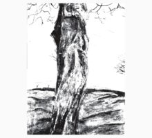 Textural Tree One Piece - Long Sleeve