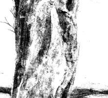 Textural Tree Sticker