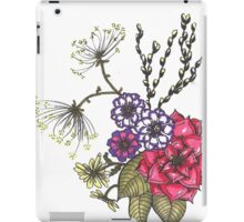 Flowers and Pussy Willows iPad Case/Skin