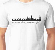 Hamilton Oceans Rise Empires Fall Unisex T-Shirt