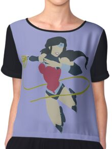 Wonder Woman (New 52) Minimalist Chiffon Top