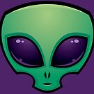 Alien Head Icon by fizzgig