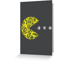 Inside the Lines: Pac-Man Greeting Card