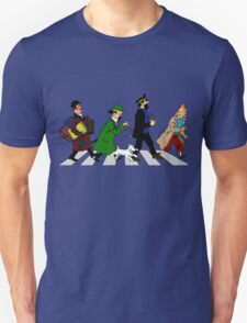 Tintin Abbey Road Unisex T-Shirt