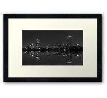 Skylined, Boston Framed Print