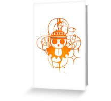 Nami - post-timeskip Greeting Card