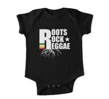 Roots Rock Reggae WHT One Piece - Short Sleeve