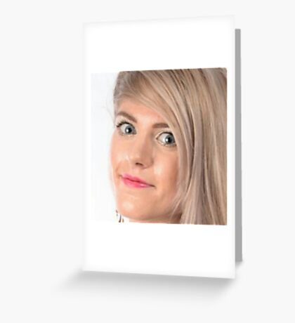 MARINA JOYCE, THE GODESS Greeting Card