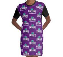 Ketchikan Alaska Adventure Graphic T-Shirt Dress
