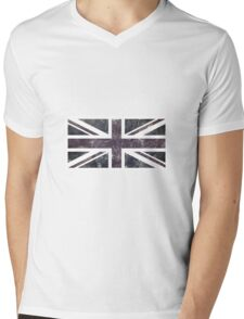 Union Jack Mens V-Neck T-Shirt