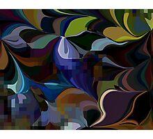 Love Jungle vivid abstraction number3. VividScene Photographic Print