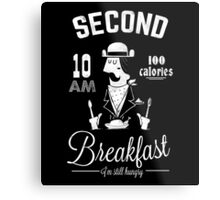 Second Breakfast Metal Print