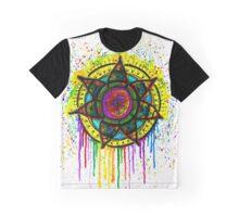 Drip Mandala Graphic T-Shirt