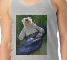 Rufus finds a Surfboard...........Lyme Dorset UK Tank Top