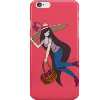 Marceline with Big Floppy Hat iPhone Case/Skin