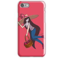 Marceline with Big Floppy Hat iPhone Case/Skin