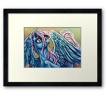 Sad Pony Framed Print