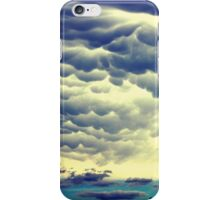 Mammatus Clouds II iPhone Case/Skin