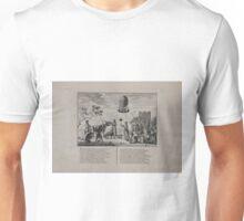0188 ballooning Dees Nederlandsche Koe altoos door Waereld grooten Unisex T-Shirt