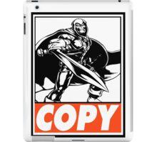 Taskmaster Copy Obey Design iPad Case/Skin