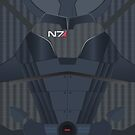 N7 Armour by FlyNebula