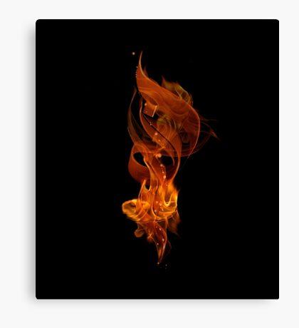 """The Fire"" (""Al Nar"" in Arabic) Canvas Print"