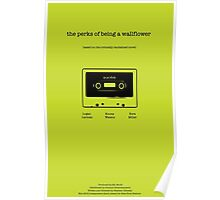 Perks of Being a Wallflower Minimalist Poster Poster