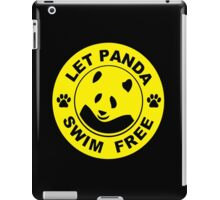 swim for gold iPad Case/Skin