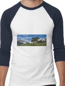 A Tree Grows in the Colorado Mountains Men's Baseball ¾ T-Shirt