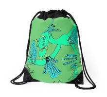 Icky Icarus Drawstring Bag