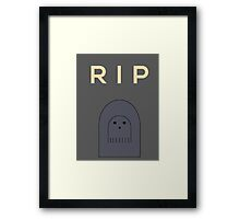 Ghostly Remembrance  Framed Print