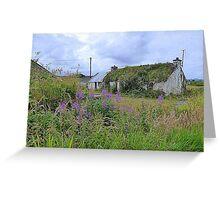 Abandoned Homestead...........................Ireland Greeting Card